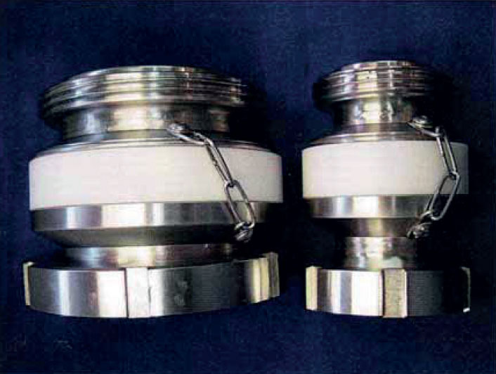 Fonterra swivel and shear couplings